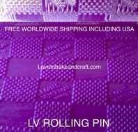 LV rolling pin. Louis Vuitton cake ,  LV Logo,  Louis Vuitton Purse cake . Free shipping (1)